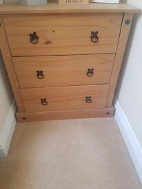 6 piece bedroom furniture set- VGC