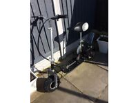 Hawkmoto petrol seated scooter