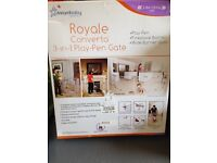 Royale Converta 3-in-1 Play Pen Gate