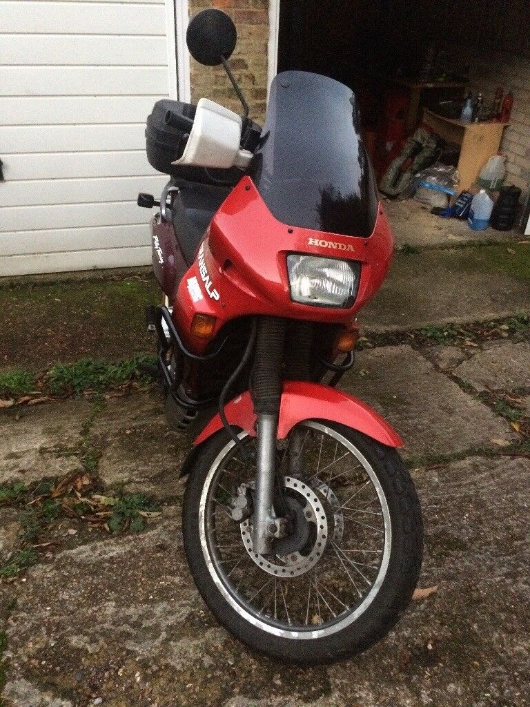 Honda Transalp 600 plus Suit and Helmet