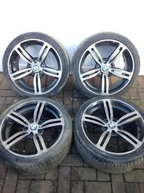 BMW E46 Msport 330 18 inch Alloy wheels