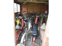 Old mopeds and parts wanted puch , mobillette , Raleigh