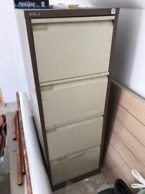 Filing cabinet and files