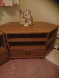 Set of Three TV units/ Cupboards
