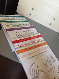 The art of drawing set of 5 books