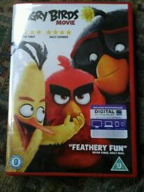 Brand new angry birds movie dvd