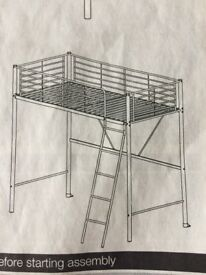 High sleeper metal bunk bed