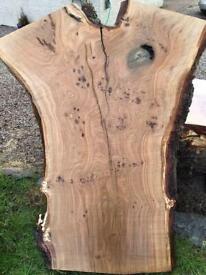 Wood for sale timber slabs Scottish hardwood live waney edge diy desk table
