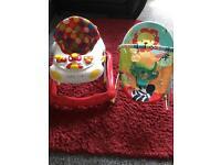 Baby bouncer & baby walker