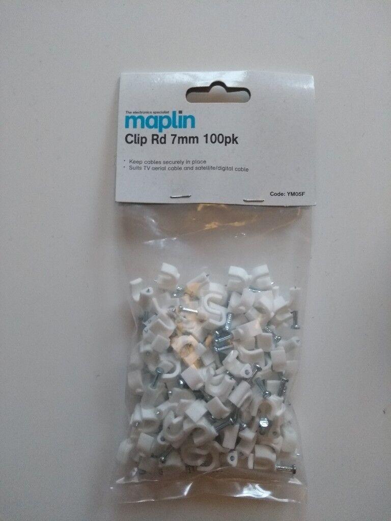 Maplin Clip Rd 7mm 100pk