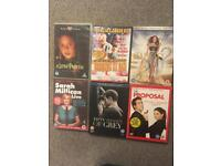 Selections of DVDs