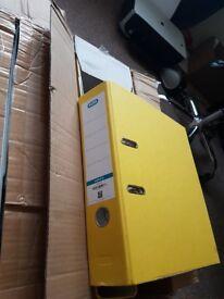Elba A4 original file set of 10 yellow