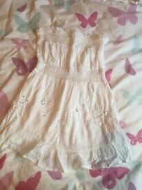 White top new look size 8
