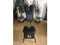 Massage Chair for sale - Black in colour - Like new!!! £40