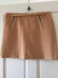 Beige M&S skirt