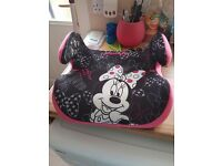Minnie mouse booster