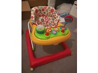 baby walker in mint condition