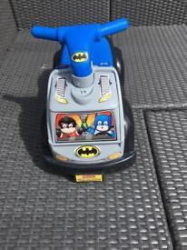 Fisher Price Little People Batman Raceway Ride On