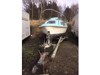 20ft sailing boat/yatch and galv trailer