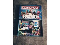 Fortnite monopoly used once excellent condition ideal xmas present