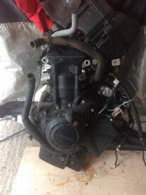 Triumph Street Triple r Engine