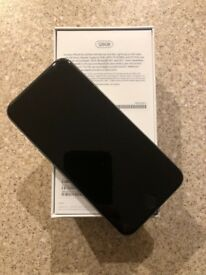 iPhone 6s 128GB space grey unlocked - immaculate condition with Apple leather case