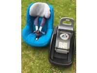 Maxi Cosi Pearl Car Seat & Iso Fix Base