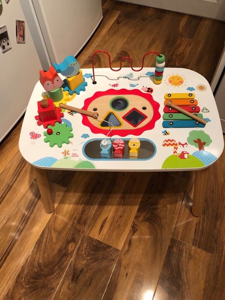 Baby Toddler Wooden Activity Table In South Shields Tyne And Wear
