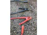 Snap on jump pack leads