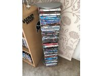 Silver DVD/CD Rack (holds 50) for sale £5 *buyer must be able to collect