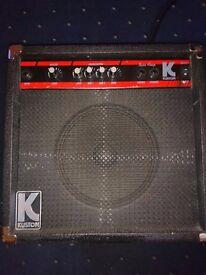 Bass amp 20watt Kustom.