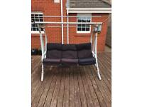 Outdoor 3 Seater garden canopy Swing