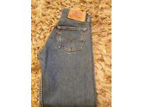 Red label Levi jeans