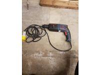 Bosch SDS hammer drill (110 volt)