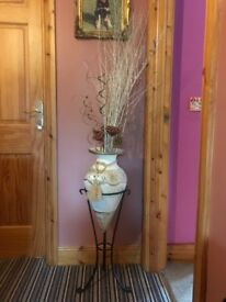 Vase and twigs
