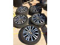 Volkswagen Passat sport Mienneapolis alloy wheels set 5 VGC inc tyres