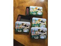 """Welcomed To Fabulous Las Vegas"" 3D Playing Card Tins (x 4)"