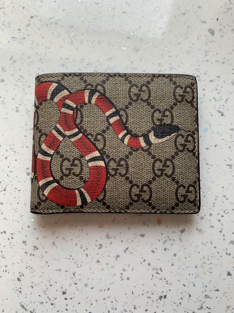 15af2dae66ea Gucci Kingsnake print GG Supreme wallet | in Romiley, Manchester ...