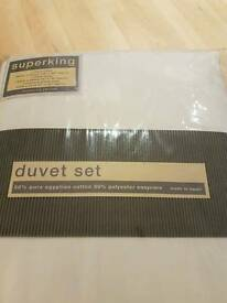 Superking Duvet Set