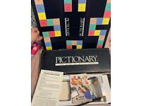 PICTIONARY BOARD GAME AGES 12 TO ADULT