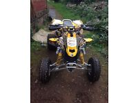2008 57 Can am DS450 DS 450 Road Legal Quad Not LTR KFX LTZ TRX Raptor