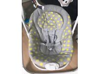Baby electric swing and rocker