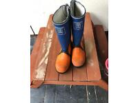 Chainsaw Wellington Boots Size 9 / Euro 43
