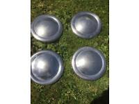 Classic mini hub caps
