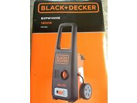 Black and Decker 1400E Pressure Washer - sealed and unused