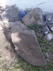 FREE large stones/boulders