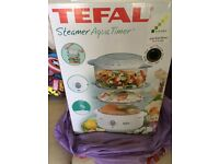 Tefal Food Steamer, brand new and still in sealed box