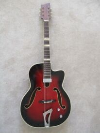 Guitar:Vintage 1950s:Archtop:Electro-acoustic:Well looked after.