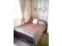 Metal Double Bed with Mattress..
