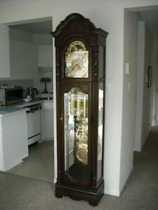 grandfather clock by howard miller